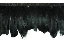 Mood Fabrics feather trim