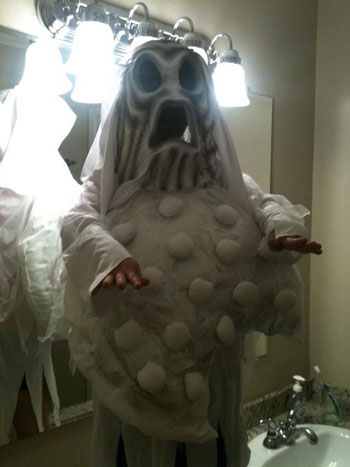 Tracy F.'s Ghost Cookie Costume