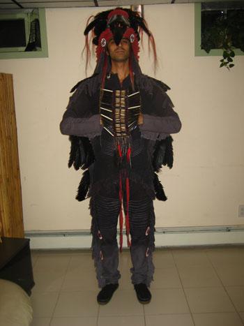 Gianni M.'s Native American Costume
