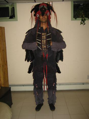 Gianni M.'s Native American Costume