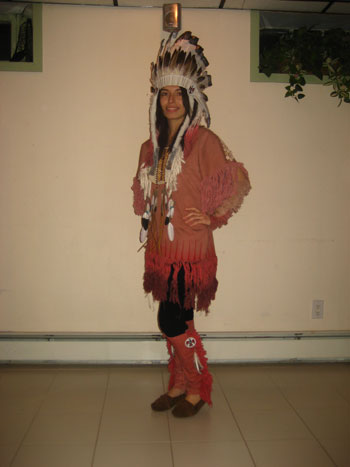 Mariam E. Native American Costume