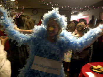 Laura B.'s Tweeter Bird Costume
