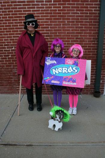 Michele J.'s Willy Wonka Costume