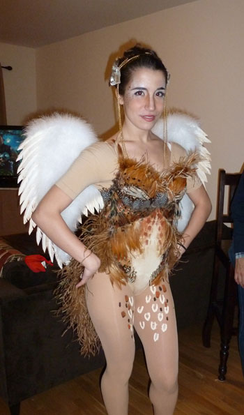 Noelle R. Bird Girl Costume