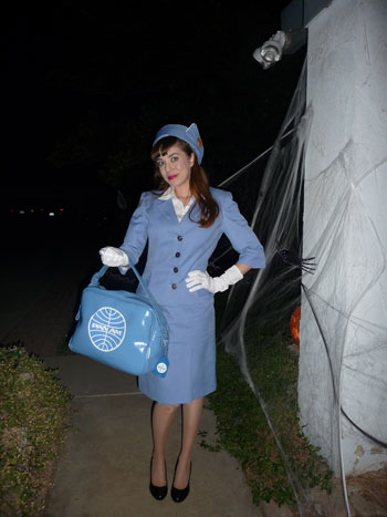 Judy M.'s Pan Am Flight Attendant