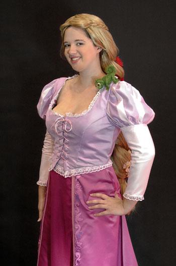 Leslie O.'s Rapunzel Costume