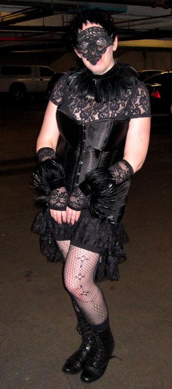 Dina K's Raven Costume