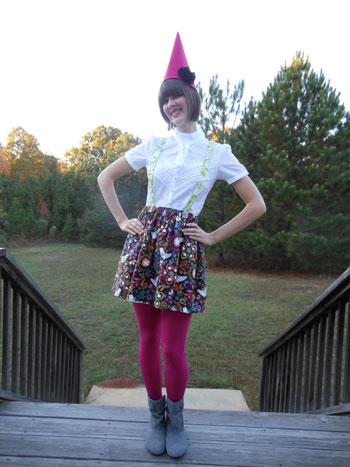 Elisha S Garden Gnome Costume