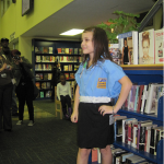 The runway competition was fierce.