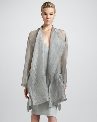 Silk 3- Donna Karan topper Bergdorf Goodman