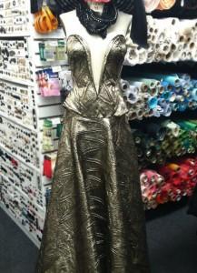brocade-gown