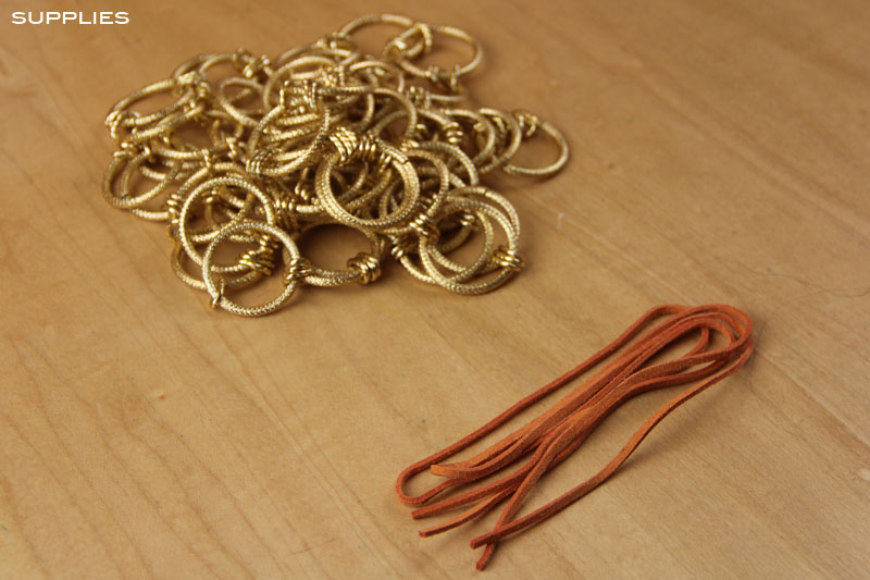 Gold Ring Necklace 2