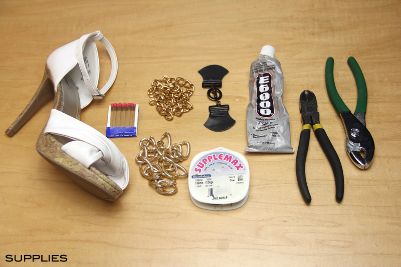 Chain Embellished Heels Inspired by Diane von Furstenberg 3