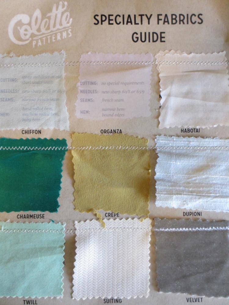 Colette Patterns Handout