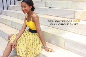 Full Circle Skirt with Tulle 1