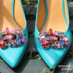 Jeweled Shoe Clip 1