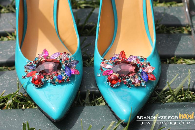 Jeweled Shoe Clip 1