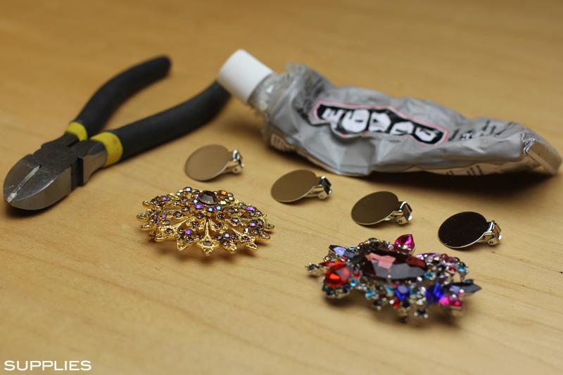 Jeweled Shoe Clip 3