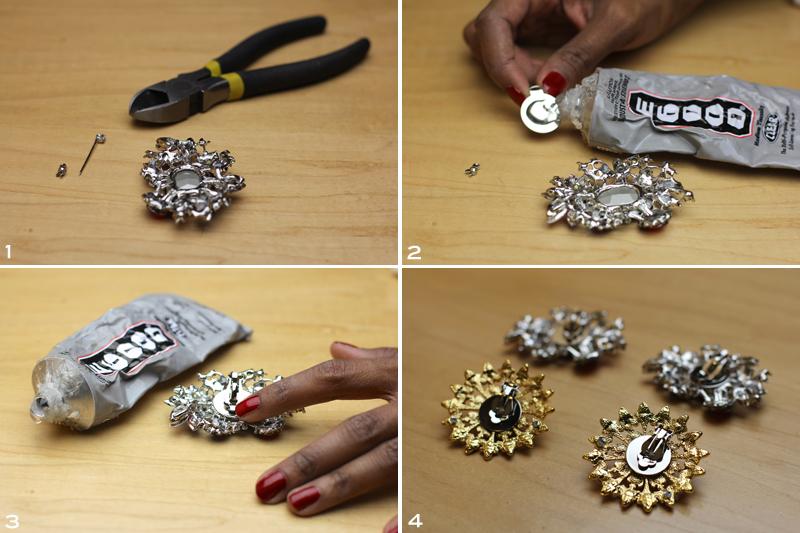 Jeweled Shoe Clip 4