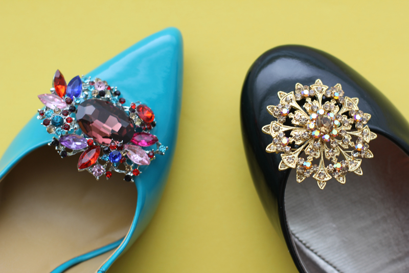 Jeweled Shoe Clip 5