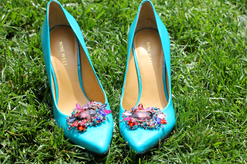 Jeweled Shoe Clip 6
