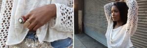Sequin Encrusted Denim Shorts 2