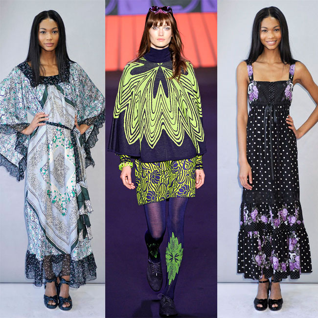 Anna Sui runway fashion