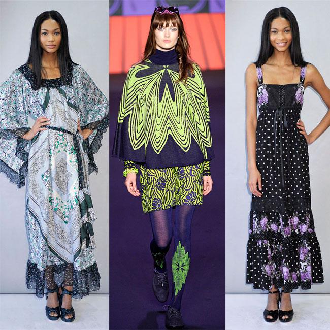Anna Sui runway fashion