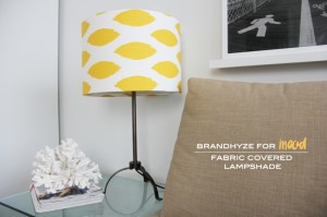Fabric Covered Lampshade 4