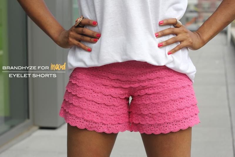 Lace Shorts 1A