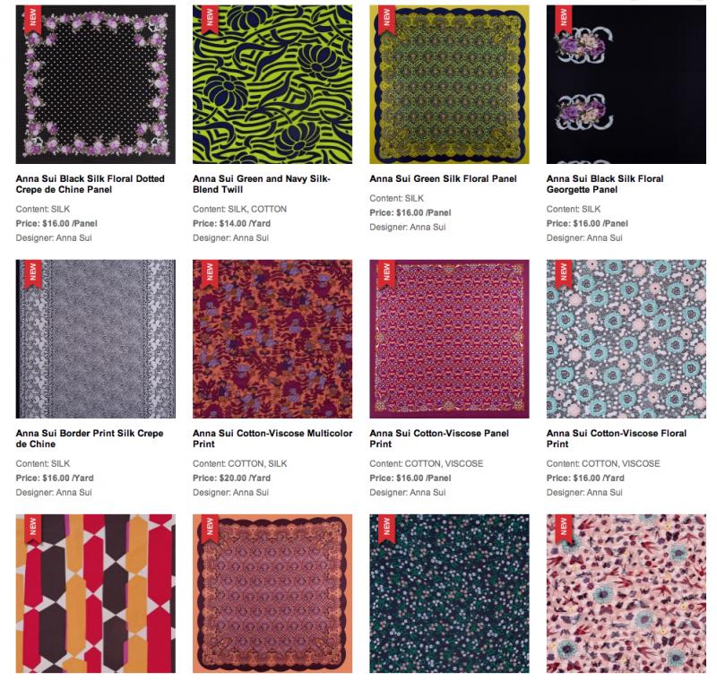Anna Sui Mood Fabrics