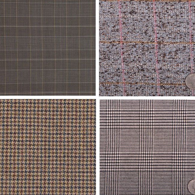 menswear fabrics from Mood Fabrics
