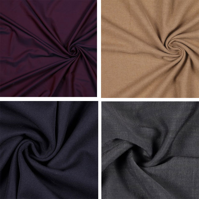 menswear fabrics by Mood