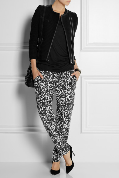 Inspiration: Isabel Marant silk pants from Net-a-Porter