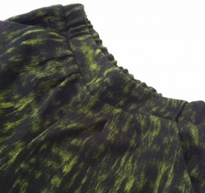 Oscar de la Renta wool pants; fabric from Mood Fabrics