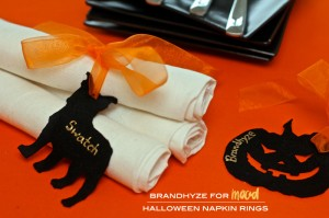 Mood DIY Halloween Napkin Rings