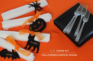 Halloween Napkin Rings 4A