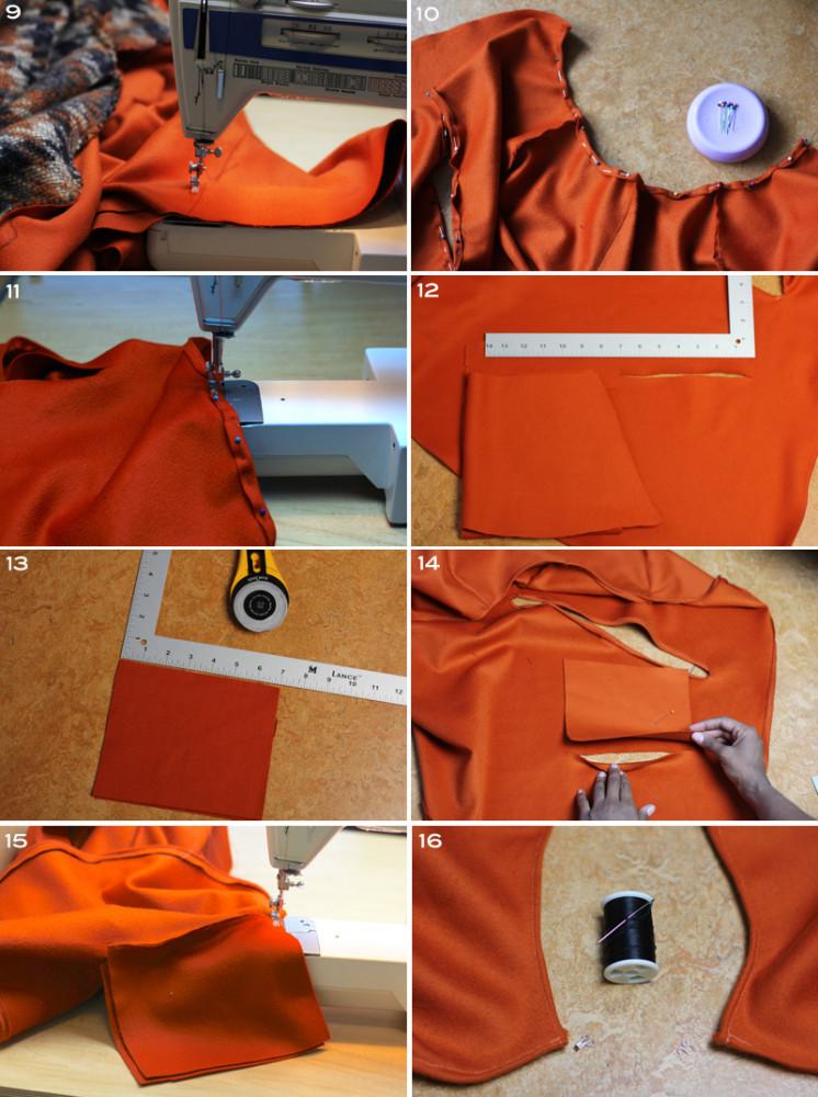 Cashmere Cape Coat 5