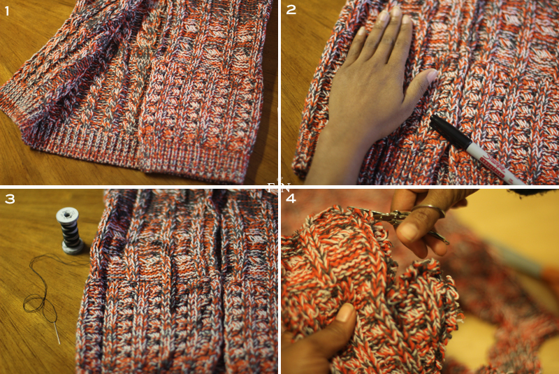 Sweater Mittens 3B