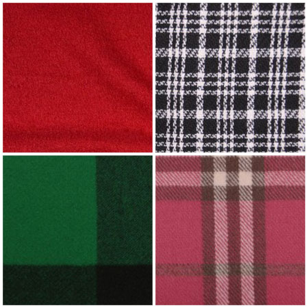 Fabrics from MoodFabrics.com suitable for winter ponchos.