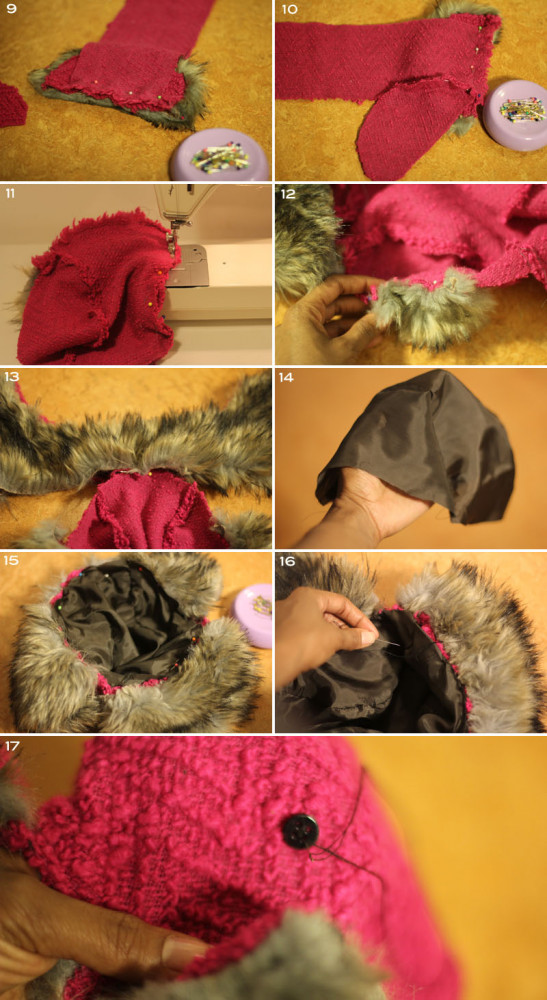 Mood Fabrics DIY: Russian Fur Hat with Ear Flaps