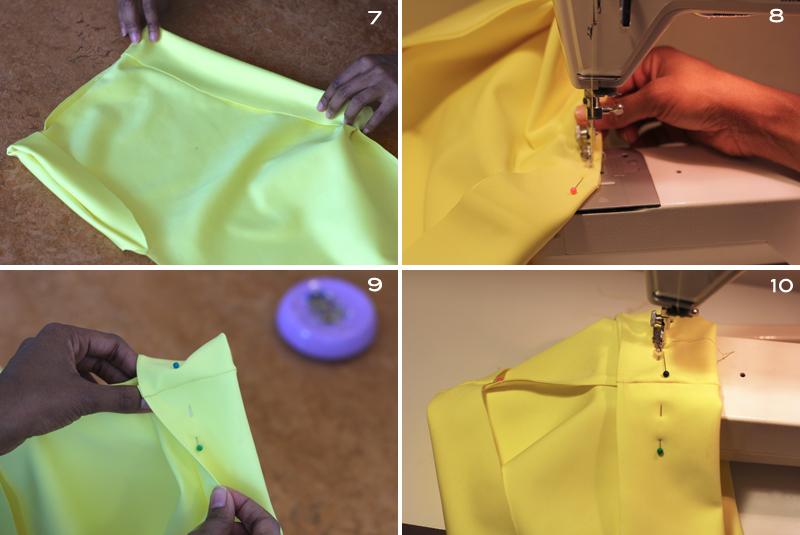 Neoprene One Shoulder Dress 4A