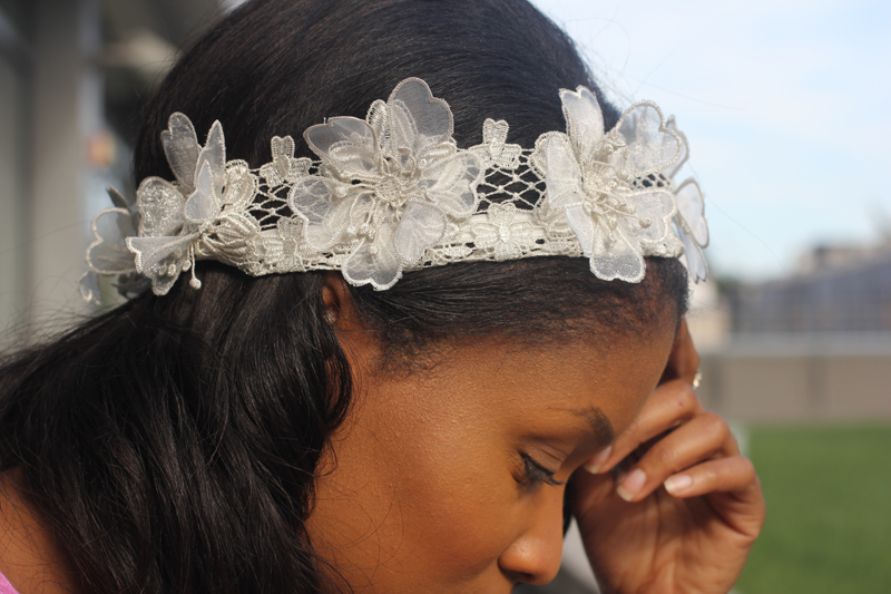 Fabric Floral Crown 5