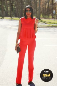 red suited