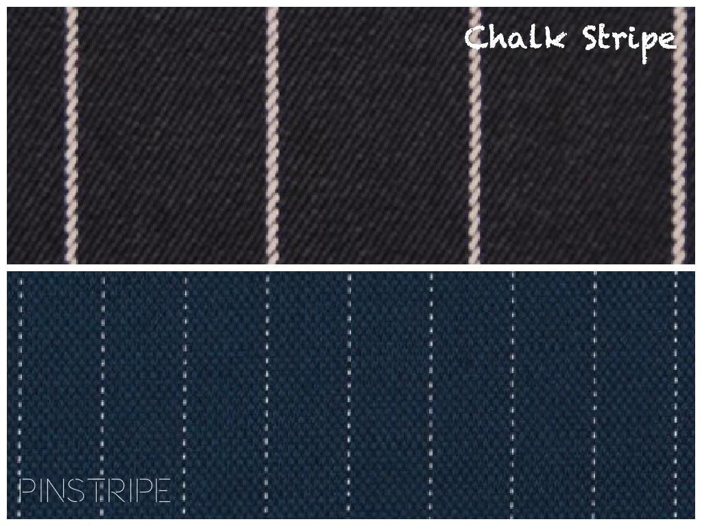 Ralph Lauren Super 110 Striped Wool Suiting vs. Italian Navy Pin Striped Blended Linen Woven