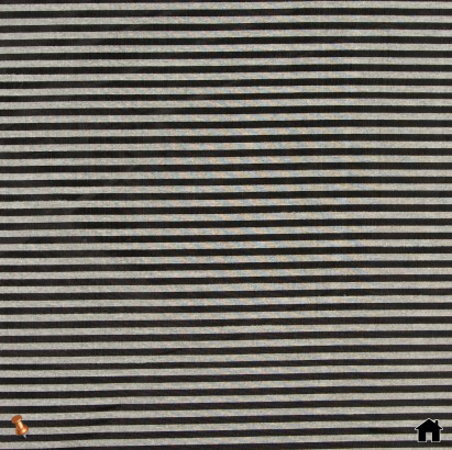 Black/Beige Candy Striped Sheer Woven