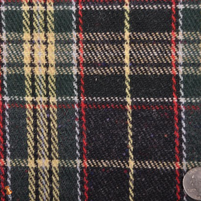 Forest/Yellow/Red/Navy/White Plaid Coating