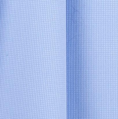 Powder Blue Pin Check Textured Cotton Shirting