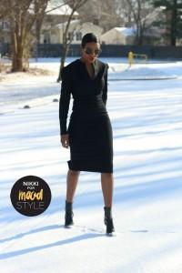 black wool zipper dress2.2jpg