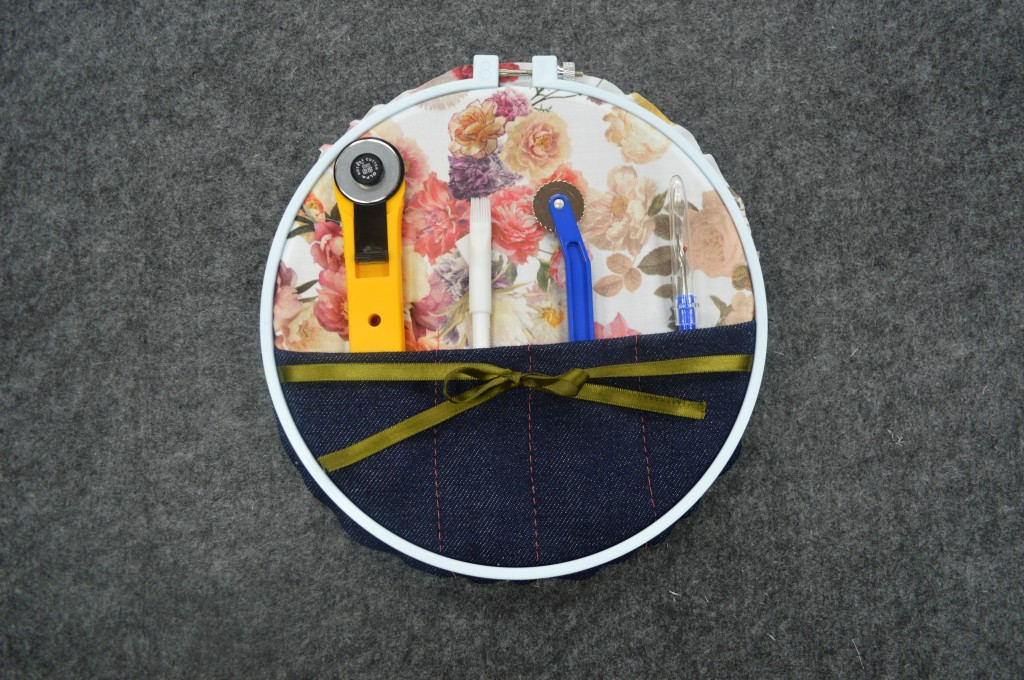 Mood diy embroidery hoop organizer